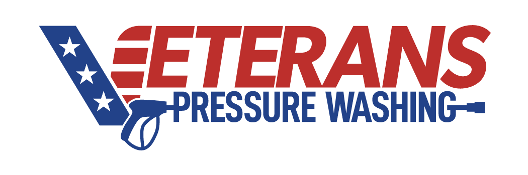 veterans pressure washing logo
