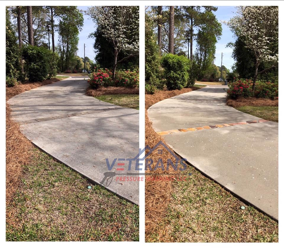 Concrete Cleaning Edgefield